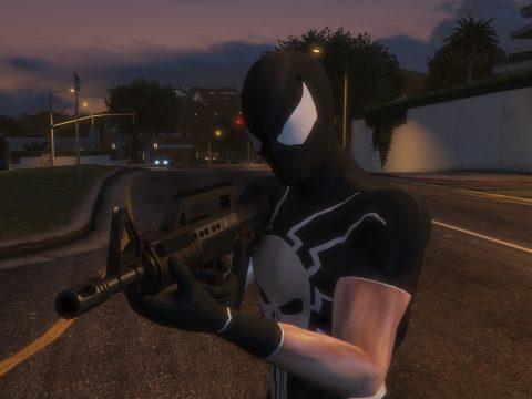 Frank Castle: Spider-Man (Retexture/Port) V.1