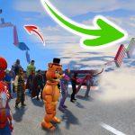 GTA 5 mega ramp longest jump stunt challenge 0.1