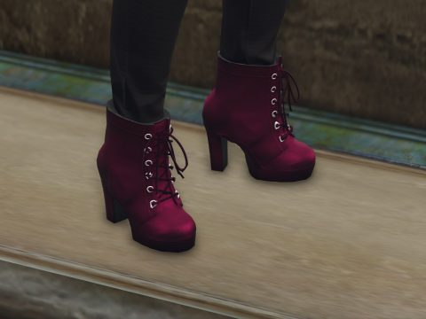 High heels boots for MP Female