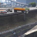 Highway Ledge accident [Menyoo] 1.0