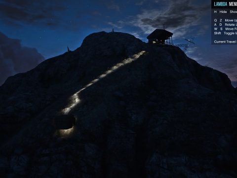 House at Mount Chiliad [MapEditor / FiveM] 1.0