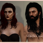 Long Hair for MP Female and MP Male FIVEM Ready 1.1