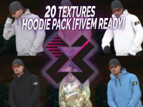 MP Hoodie Pack - Off-White Supreme Nasa... [SP / FiveM] 1.0