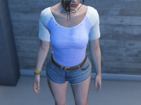 Simple Top for MP Female Textures [SP / FiveM] 1.0