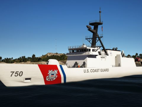 USCG Legend-Class Cutter Bertholf [Working Guns] 1.0