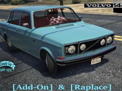 Volvo 144 + Taxi [Add-On / Replace | Extras | Tuning | Template | LODs] 1.0