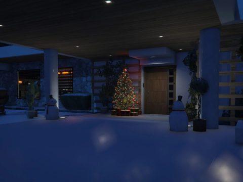 XMAS Malibu Mansion [Addon   FiveM] 1.0