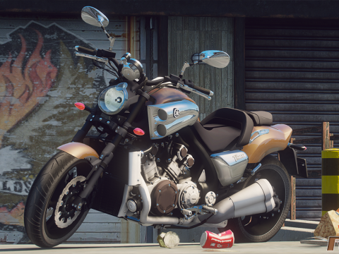 Yamaha 1700 V-MAX 2009 [Add-On] 1.0