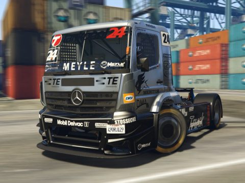 2015 Mercedes-Benz Tankpool Racing Truck [Add-On | Tuning] 1.0