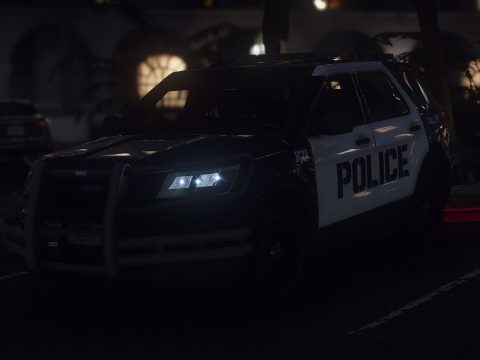 2016 Ford Explorer POLICE Interceptor [Replace / ELS] 1.0