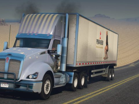 2016 Kenworth T680 Daycab [Add-On / Replace | LODs | Template] 1.0
