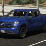 2020 Chevrolet Silverado 1500 Crew Cab Trail Boss LT [Add-On / Replace   Template] 0.3