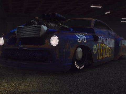 Albany Hermes Classic Procharger [Replace / FiveM | Tuning] 1.1