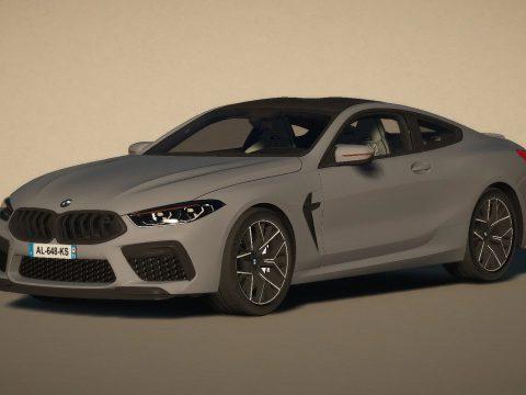 BMW M8 [Replace / FiveM | Unlocked] 1