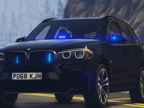 BMW X5M Unmarked ARV [Replace / ELS] 1.0