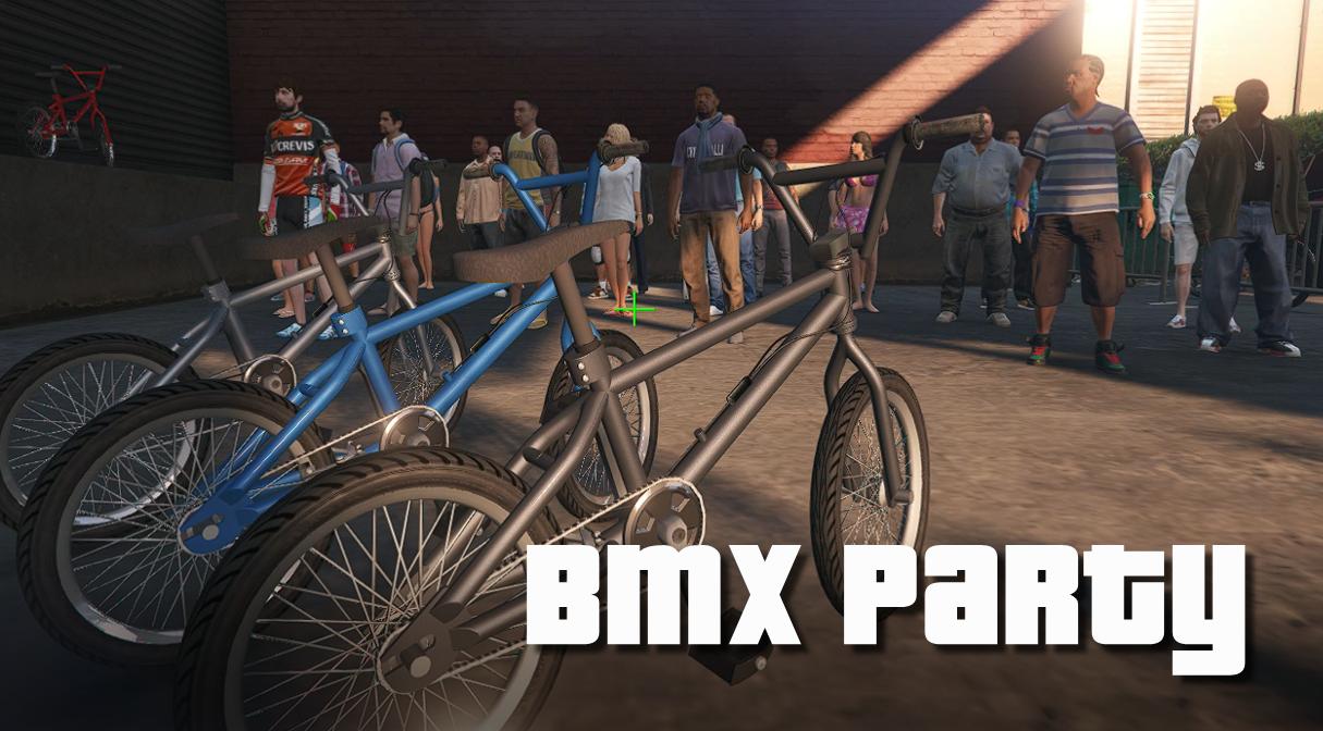 BMX Party in Los Santos - [Menyoo] 1.0