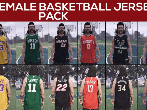Male & Female Basketball Jersey Pack 1.0