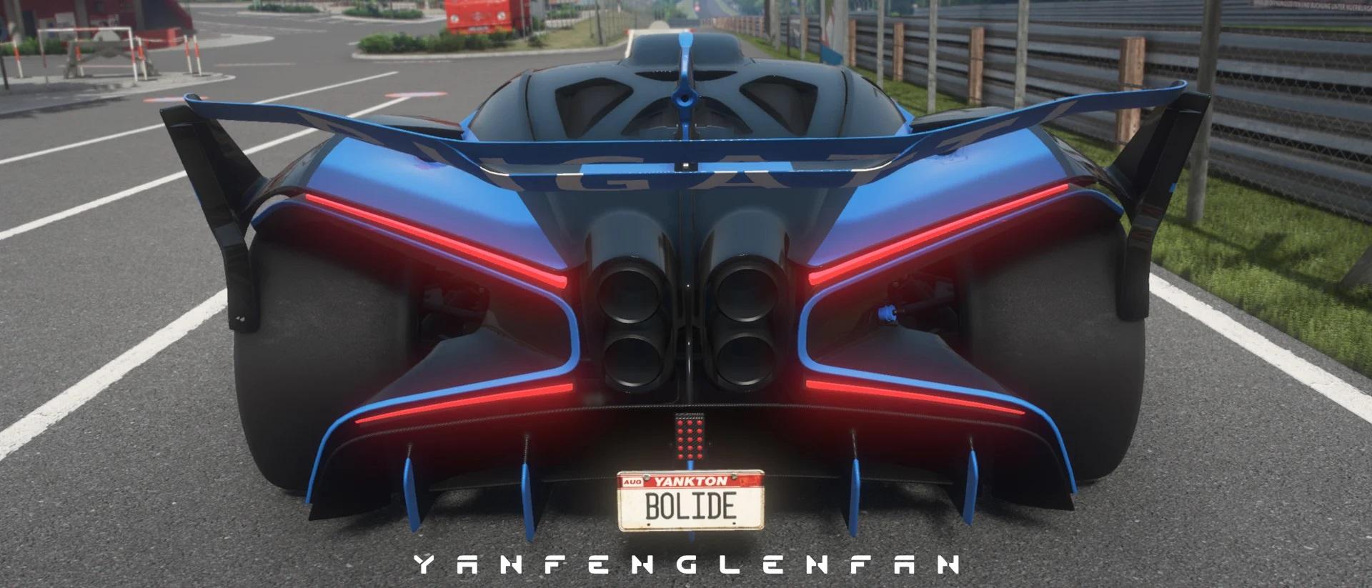 Bugatti Bolide Concept Car Add On L Template 1 6 Gta5mod Net