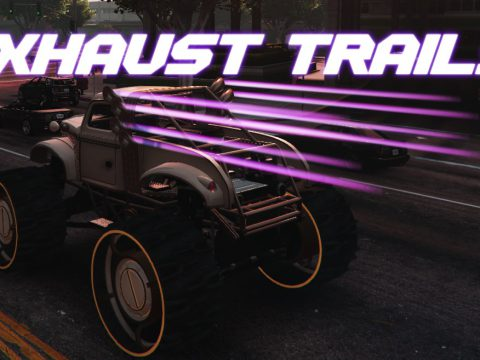 Colored exhaust trails 1.0