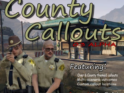 (LSPD:FR) DeLuca's County Callouts 0.3 alpha
