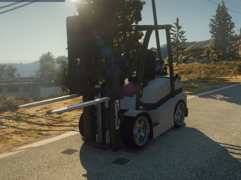 Drag Forklift [Addon / Replace | FiveM] 1.0