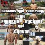Franklin Michael and Trevor Tattoos 2.5