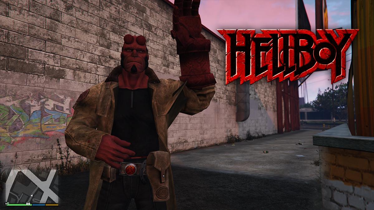 HellBoy [Add-On Ped] 1.0