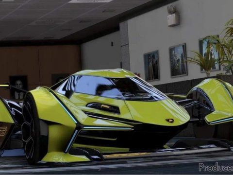 Lamborghini V12 Vision GT [Add-On / FiveM | Tuning] Final 1.1