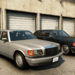 Mercedes Benz 560SEL (w126) US-spec [Add-On / Replace | Animations | Tuning | LODS] 1.0