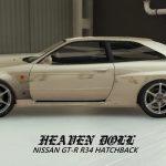 Nissan GTR (RH34) Hatchback V2 (WIDEBODY)