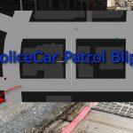 Police Car Patrol Blips