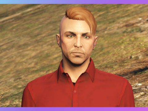 Side shaved hairstyle for MP Male 1.0
