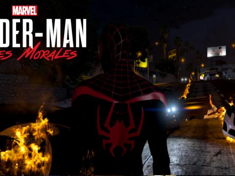 Spider-Man: Miles Morales PS5 (Retexture) V.1
