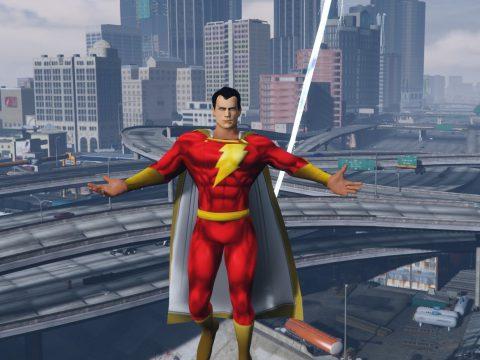 Superman BvS Injustice 2 - Retexture - SHAZAM 1.0