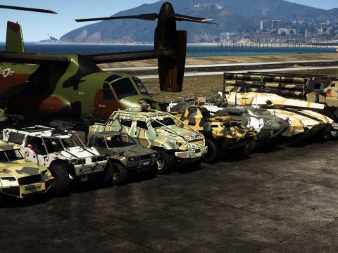Universal Military Camos from around the world [Add-On] 1.0