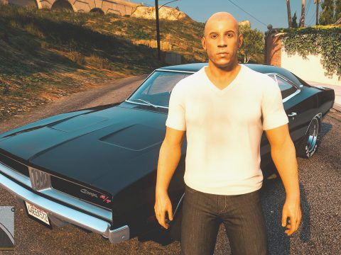Vin Diesel [Add-On Ped / Replace] 1.0