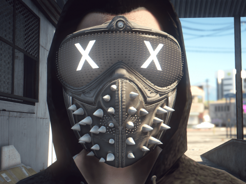 [MP Male] Wrench Mask