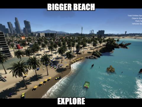 Beach enchantment (better beach) (menyoo) 0.1