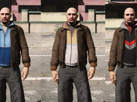 Niko's jacket for MP Male 1.0
