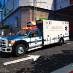 2015-2016 Ford F450 SuperDuty Single Cab Ambulance ALS-11 1.6 FiveEMS stretcher menu