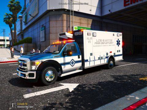 2015-2016 Ford F450 SuperDuty Single Cab Ambulance ALS-11 1.6 FiveEMS stretcher menu