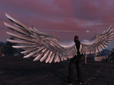 Angel Wings Retexture - Realistic Wings - METAL 1.0