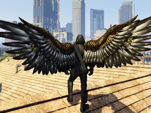Angel Wings Retexture pack 3.0