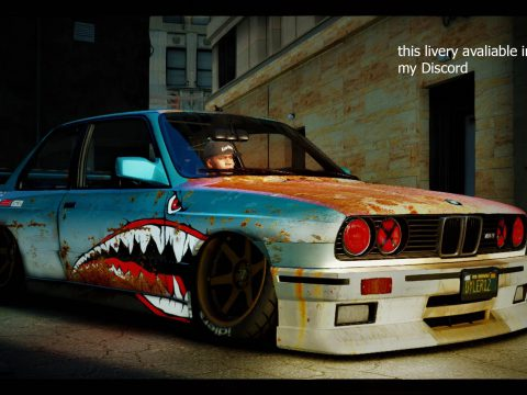 BMW M3 E30 1990 [Add-On | Tuning | Template] 1.1