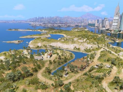 Cayo Perico Map Add-on V3