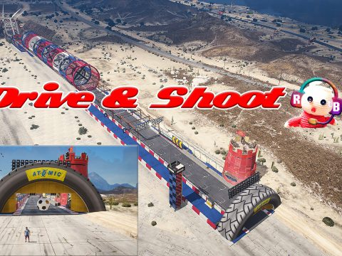 Drive and Shoot Challenge [Menyoo / funny] 1.0