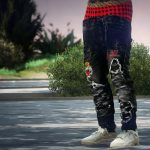 FENDI x BALMAIN Sagged Jeans MP 1.1