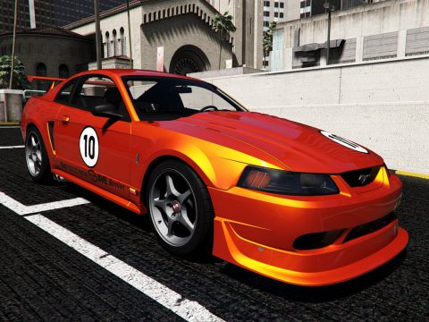 Ford Mustang SVT Cobra R 2000 [Add-On | Extras | Template] 1.1