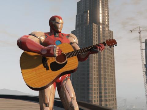 Iron Man Fortnite [Add-On Ped] 1