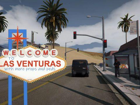 Las Venturas - More Props BETA